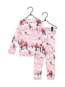 Muumi - Pyrstötähti-pyjama - PINK | Stockmann