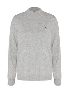 Tommy Hilfiger - Wool Cashmere Sweater -villa-kashmirneule - PKH LIGHT GREY HEATHER | Stockmann