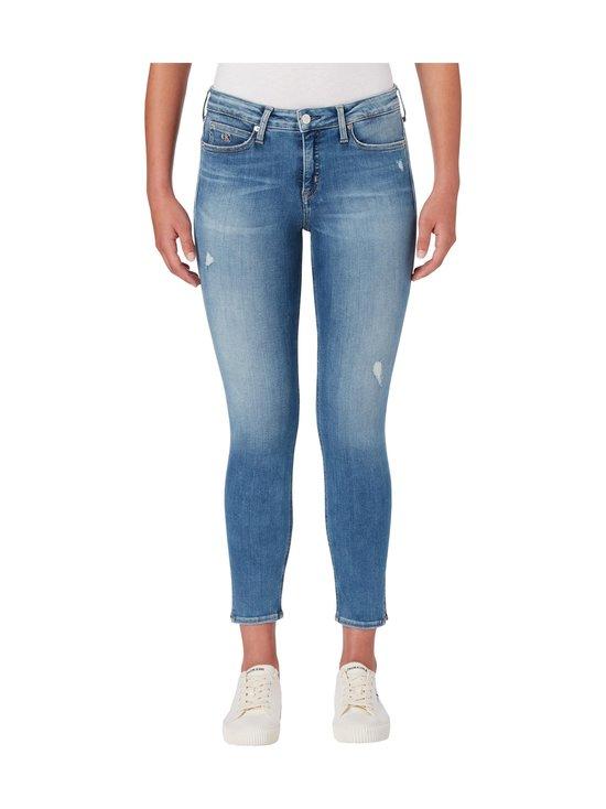 Calvin Klein Jeans - Super Skinny Ankle -farkut - 1AA AB039 LIGHT BLUE DSTR RIVET | Stockmann - photo 2