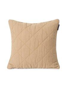Lexington - Quilted-tyynynpäällinen 50 x 50 cm - BEIGE | Stockmann
