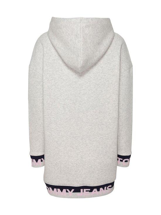 Tommy Jeans - TJW Branded Hem Sweat Dress -collegemekko - PJ4 SILVER GREY HTR | Stockmann - photo 2