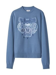 Kenzo - Gradient Tiger Classic Sweat -collegepaita - 67 - GRADIENT TIGER MOLLETON - BLUE | Stockmann
