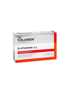 Tri Tolonen - D-Vitamiini 100µg 60 kaps./22 g | Stockmann