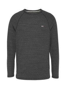 Tommy Jeans - Tjm Longsleeve Texture Tee -paita - BD1 BLACK HTR   Stockmann