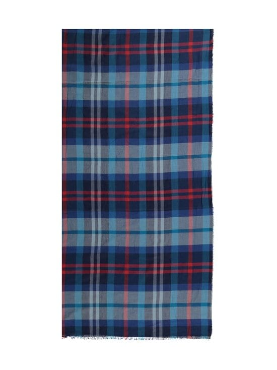 Fraas - Puuvillahuivi - 590 590 BLUE-RED | Stockmann - photo 2