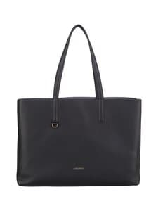 Coccinelle - Matinee Tote Workbag -nahkalaukku - 723 NOIR/ASH GREY | Stockmann