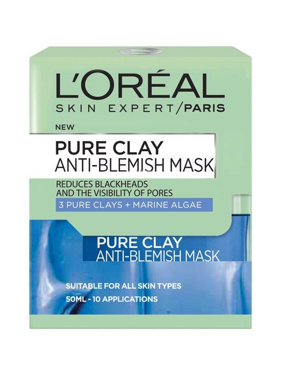 L'Oréal Paris - Pure Clay AntiBlemish -puhdistava kasvonaamio 50 ml - null | Stockmann - photo 2