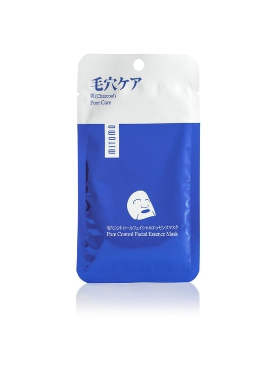 Mitomo - Premium Face Mask With Charcoal Pore Care -kasvonaamio - null   Stockmann - photo 1