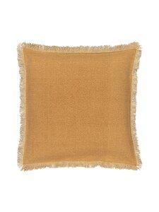 Casa Stockmann - Mes-tyynynpäällinen 50 x 50 cm - DEEP YELLOW | Stockmann