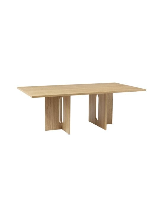 Menu - Androgyne-ruokapöytä 210 x 100 cm - NATURAL OAK   Stockmann - photo 1