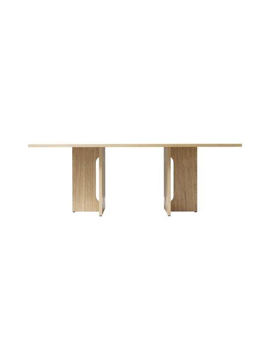 Menu - Androgyne-ruokapöytä 210 x 100 cm - NATURAL OAK   Stockmann - photo 2