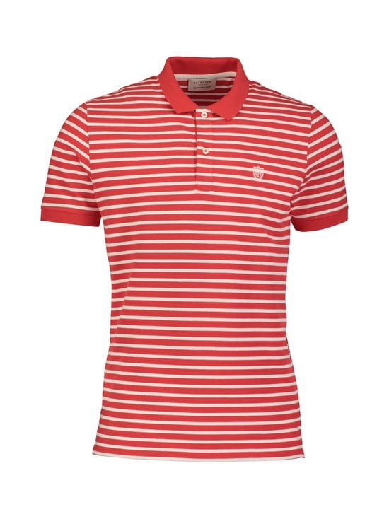 Selected - SlhAro Stripe -pikeepaita - GOJI BERRY STRIPES:EGRET | Stockmann - photo 1