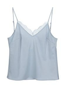 NA-KD - Back Tie Strap Singlet -pusero - LIGHT BLUE | Stockmann