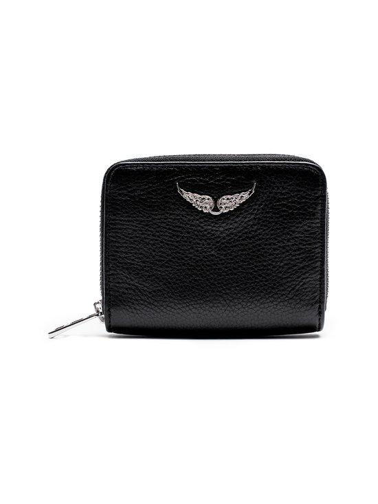 Zadig&Voltaire - Mini ZV Wallet -nahkalompakko - NOIR BLACK | Stockmann - photo 1