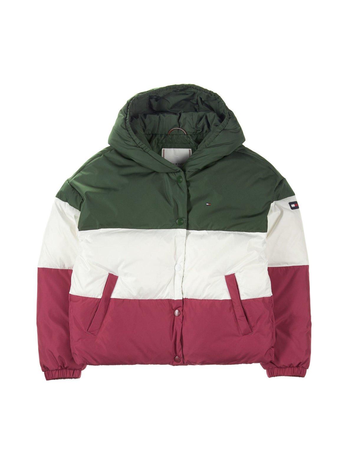 Kombu Green (vihreä valkoinen pinkki) Tommy Hilfiger Toppatakki ... e93e2a5228