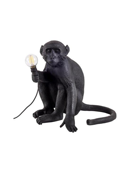 Seletti - Monkey Lamp Black Sitting -pöytävalaisin - MUSTA | Stockmann - photo 1