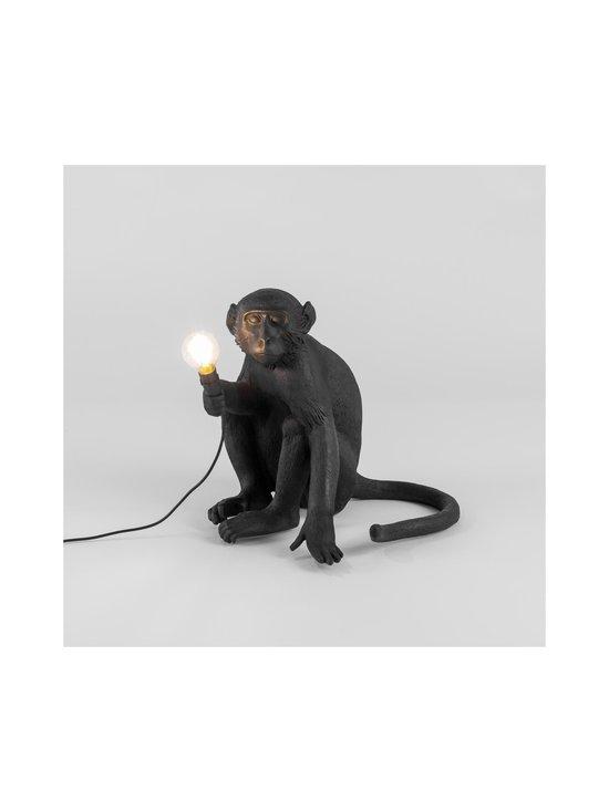 Seletti - Monkey Lamp Black Sitting -pöytävalaisin - MUSTA | Stockmann - photo 2