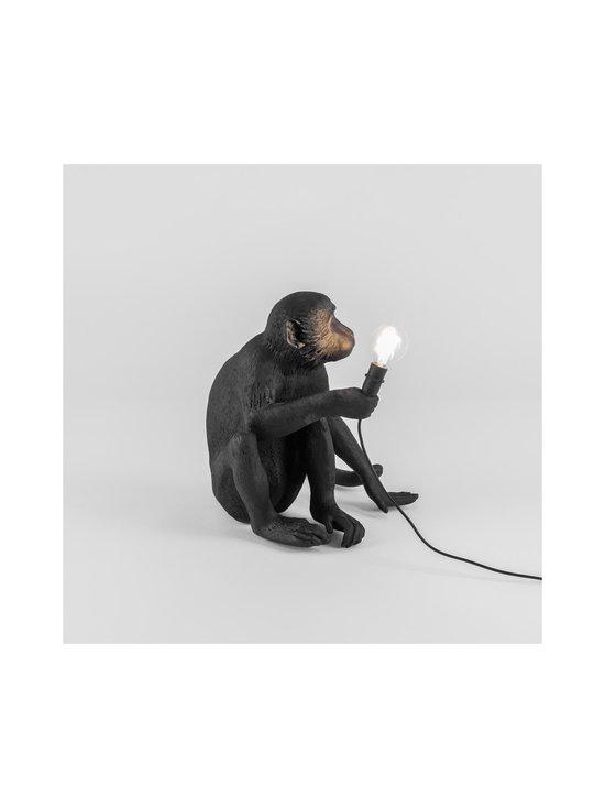 Seletti - Monkey Lamp Black Sitting -pöytävalaisin - MUSTA | Stockmann - photo 3