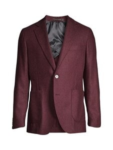 Oscar Jacobson - Ferry Patch Blazer -bleiseri - 666 PURPLE | Stockmann