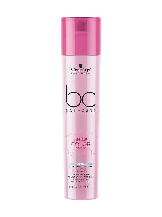 Schwarzkopf Professional - Bonacure pH4.5 Color Freeze Silver Micellar -shampoo 250 ml - NOCOL | Stockmann - photo 1