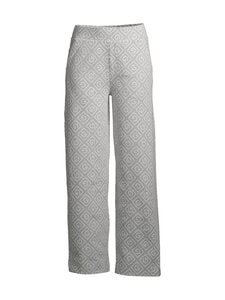 GANT - Icon G Jacquard Sweat Pant -housut - 94 LIGHT GREY MELANGE | Stockmann