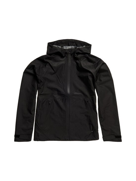 Superdry Sport - No Excuses Waterproof -takki - 02A BLACK | Stockmann - photo 1