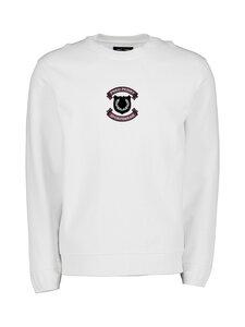 Fred Perry - Shield Sweatshirt -collegepaita - 129 SNOW WHITE | Stockmann