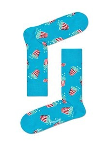 Happy Socks - Popcorn-sukat - 6700 6700-BLUE | Stockmann