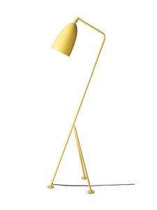Gubi - Gräshoppa Floor Lamp -lattiavalaisin 125 cm - ASPEN YELLOW SEMI MATT | Stockmann