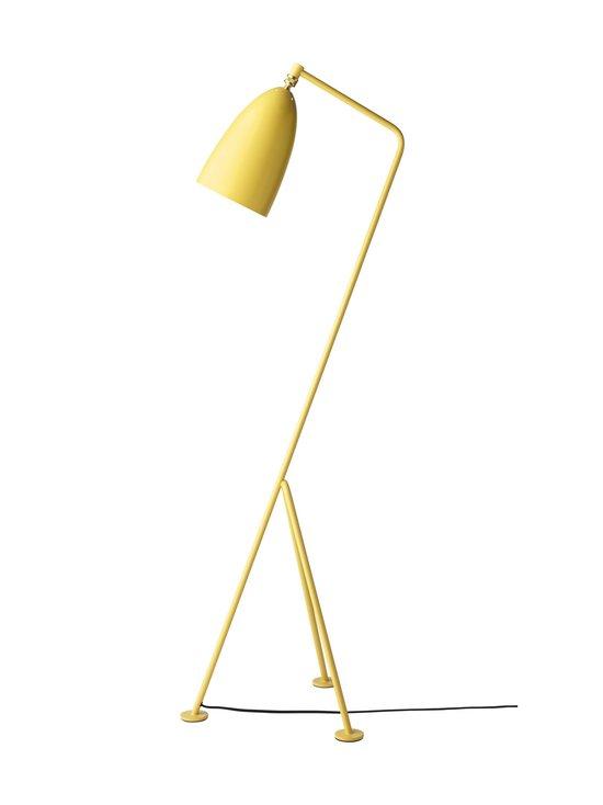 Gubi - Gräshoppa Floor Lamp -lattiavalaisin 125 cm - ASPEN YELLOW SEMI MATT   Stockmann - photo 1