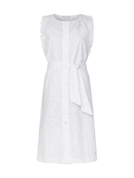 Tommy Hilfiger - Broderie Anglaise Sleeveless Dress -mekko - YCF TH OPTIC WHITE | Stockmann - photo 1