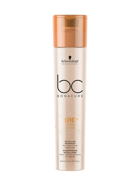 Schwarzkopf Professional - Bonacure Q10 Time Restore Micellar -shampoo 250 ml - NOCOL | Stockmann - photo 1