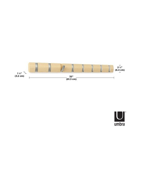 Umbra - Flip 8 -naulakko 82 cm - NATURAL   Stockmann - photo 6