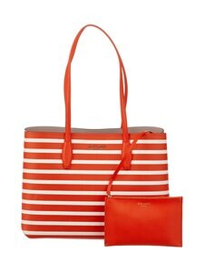 kate spade new york - All Day Sailing Stripe Large Tote -laukku - 812 TAMARILLO MULTI | Stockmann