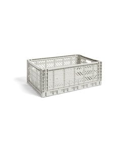HAY - Colour Crate L -laatikko 60 x 40 x 22 cm - LIGHT GREY | Stockmann