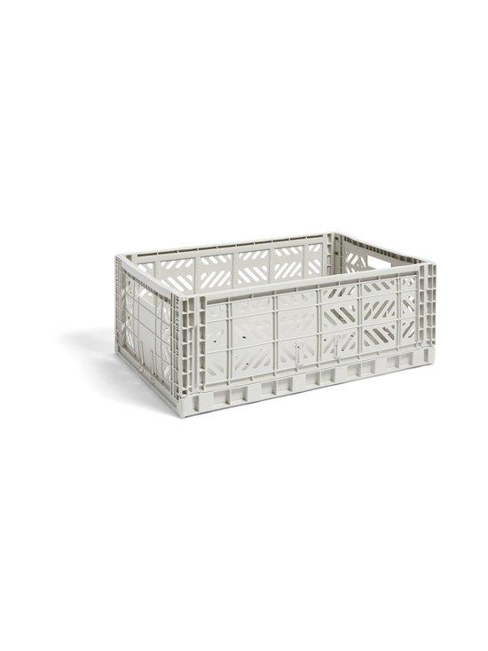 HAY - Colour Crate L -laatikko 60 x 40 x 22 cm - LIGHT GREY   Stockmann - photo 1