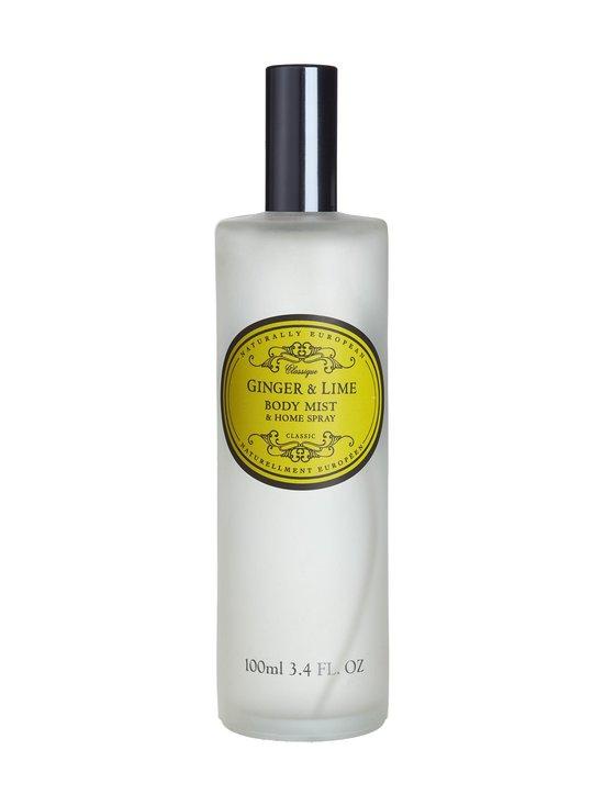 Naturally European - Ginger & Lime Body Mist & Home Spray -tuoksusuihke 100 ml - NOCOL   Stockmann - photo 1