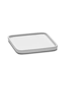 Serax - Heii Plate Square -lautanen 12 x 12 cm - WHITE | Stockmann