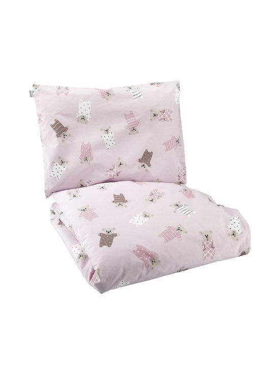 Pentik - Pikkunallet- vauvan pussilakanasetti 85 x 125 + 36 x 46 cm - PINK | Stockmann - photo 1