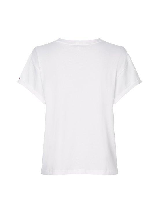 Tommy Hilfiger - Essentials Logo Relaxed Fit T-Shirt -paita - YBR WHITE | Stockmann - photo 2