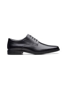 Clarks - Howard Walk -kengät - BLACK | Stockmann
