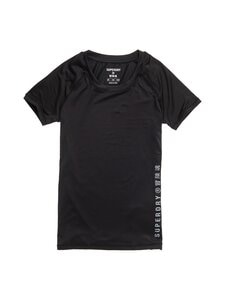 Superdry Sport - Training Essential Tee -paita - 02A BLACK | Stockmann
