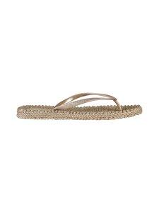 ILSE JACOBSEN - Flip-Flops With Glitter -sandaalit - 780 PLATIN | Stockmann
