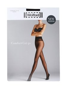 Wolford - Comfort Cut -sukkahousut 40 den - MUSTA | Stockmann