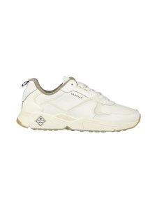 GANT - Nicewill-nahkasneakerit - G20 OFF WHITE | Stockmann