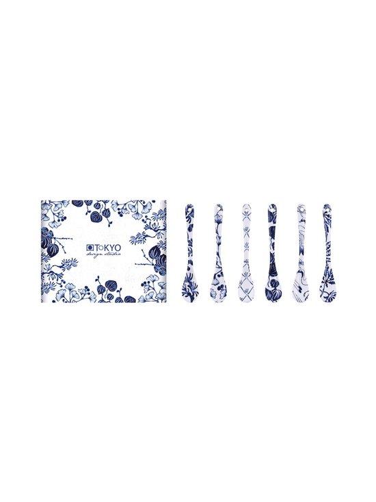 Tokyo Design Studio - Lusikka 6 kpl - BLUE/WHITE | Stockmann - photo 1