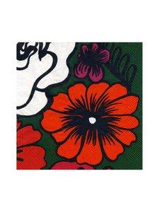 Marimekko - Eläköön Elämä -servetti 33 x 33 cm - GREEN | Stockmann