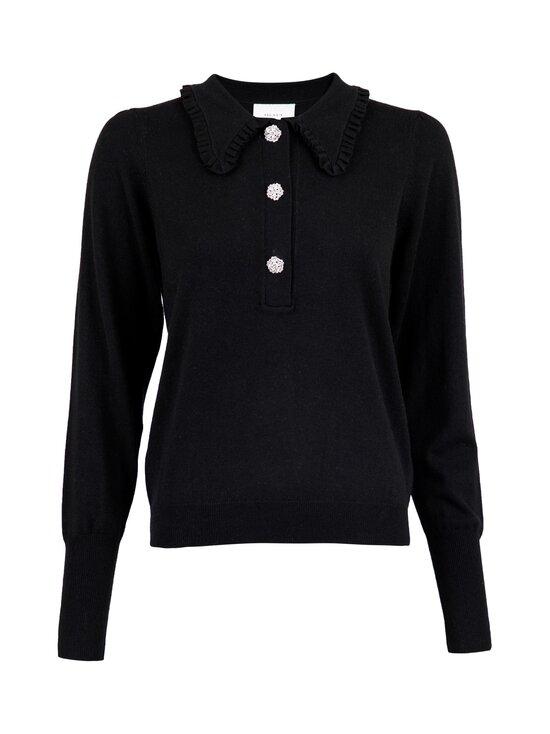 Neo Noir - Gemma Diamond Knit Blouse -neule - 100 BLACK | Stockmann - photo 1