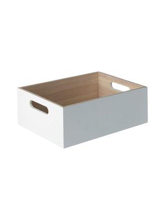 Fina L wooden box 30 x 22 x 11 cm - Casa Stockmann