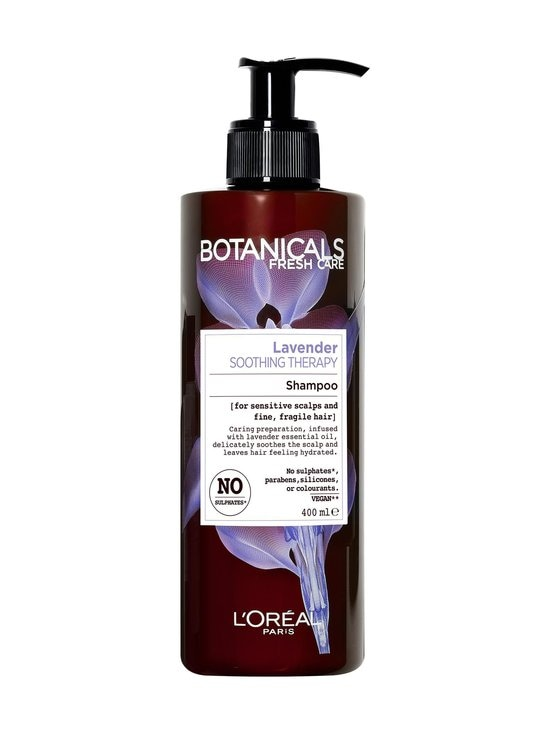 BOTANICALS - Lavender Soothing -shampoo ohuille ja hauraille hiuksille 400 ml | Stockmann - photo 1